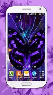 Motýl Živé Tapety - náhled