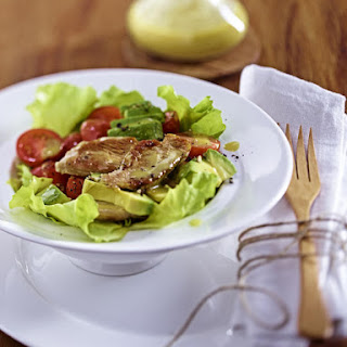 Healthy Turkey Avocado Salad Recipe