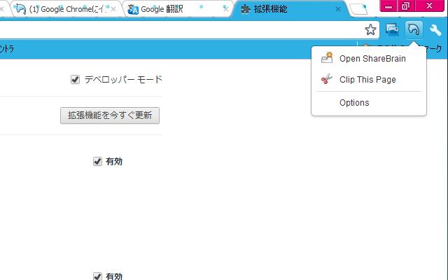 ShareBrain Extension for Google Chrome™