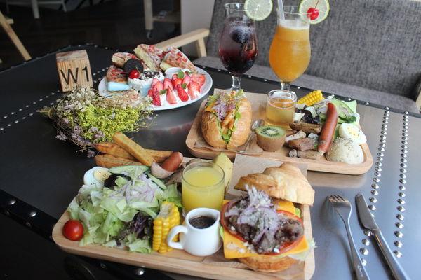 午街貳拾-台中高質感咖啡廳,從早到晚供應美味餐點