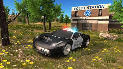 Police Car Driving Offroad 2 screenshots 2