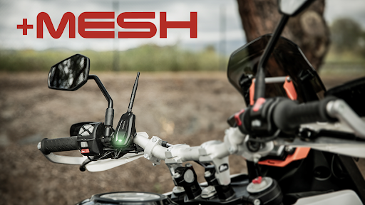 Mesh Intercom™ Technologie ist jetzt mit dem neuen +Mesh