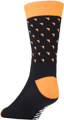 45NRTH Midweight Sock - Orange Triangles alternate image 0