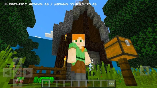 Try Find Button. MCPE map - náhled