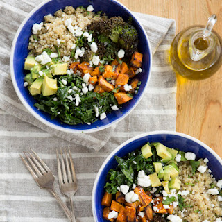Sweet Potato, Avocado & Quinoa Bowl.