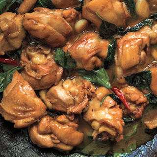 Taiwanese Three Cup Chicken.