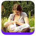 Breast feeding full guide icon
