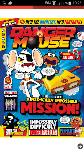 Danger Mouse Magazine