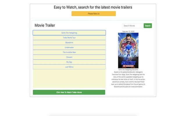 Movie Trailers Online
