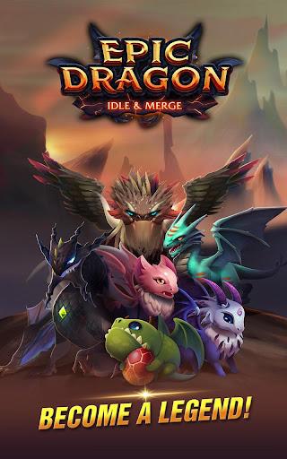 Dragon Epic - Idle & Merge - Arcade shooting game screenshots 12