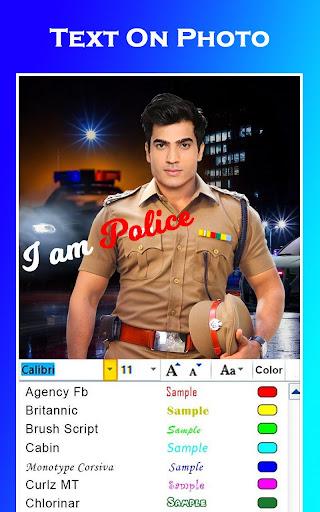 Men Police Suit Photo Editor 2020 1.0.17 screenshots 7