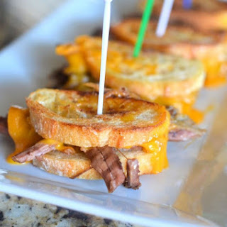 Mini Grilled Cheese Pot Roast Sandwiches Recipe