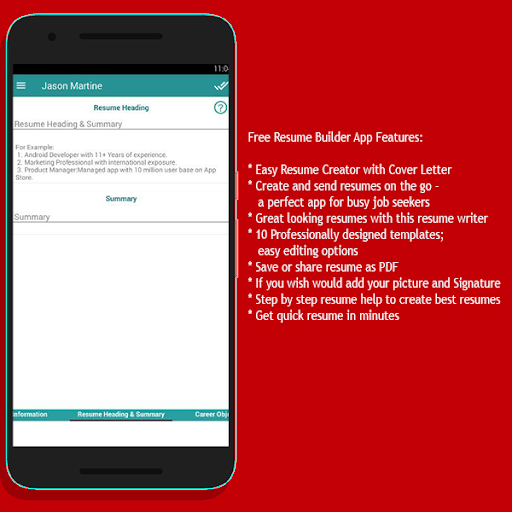 Resume CV Creator Apk 1.0 | Download Only APK file for Android