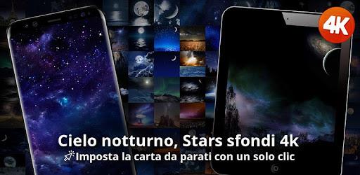 Cielo Notturno Stars Sfondi 4k App Su Google Play