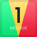 Mobile 1Market Store icon