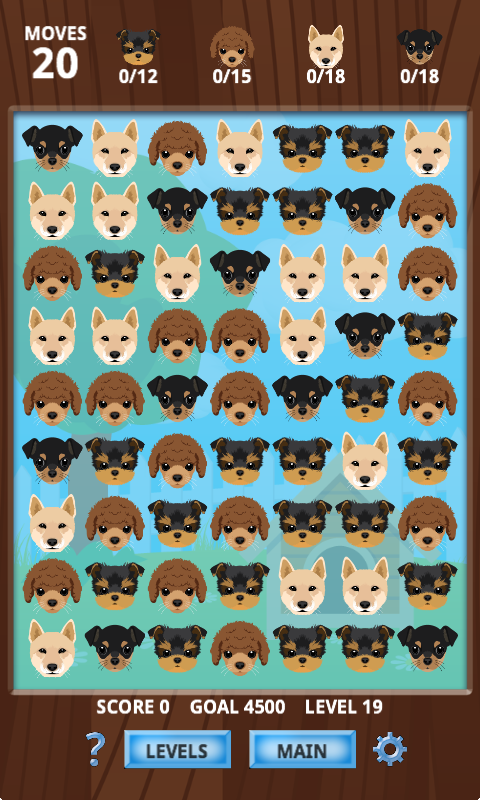 Puppy Playmate Match 3 Free- screenshot