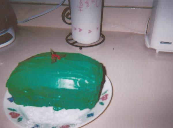 Grace's Mint Green Frosting So Simple