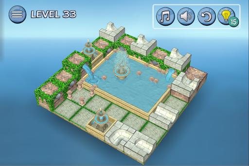 Flow Water Fountain 3D Puzzle Screenshots 6