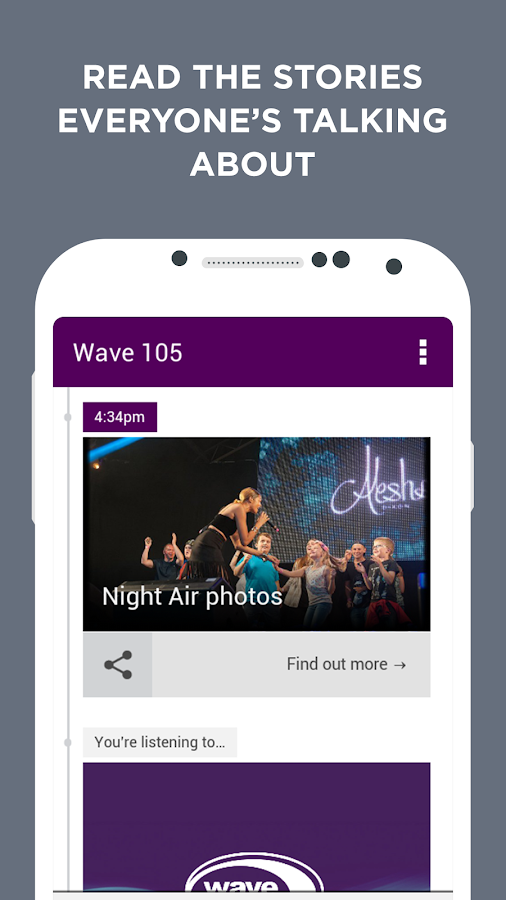 Wave 105- screenshot