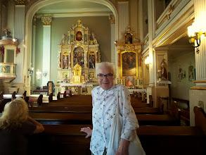 Photo: P. Ania Janiszewska w kościele pw. św. Elżbiety