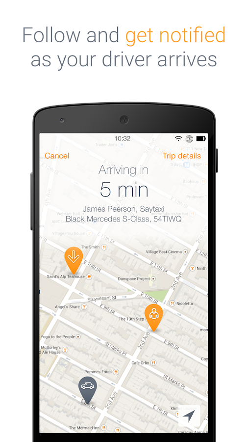 Saytaxi - Get a cab now!- screenshot