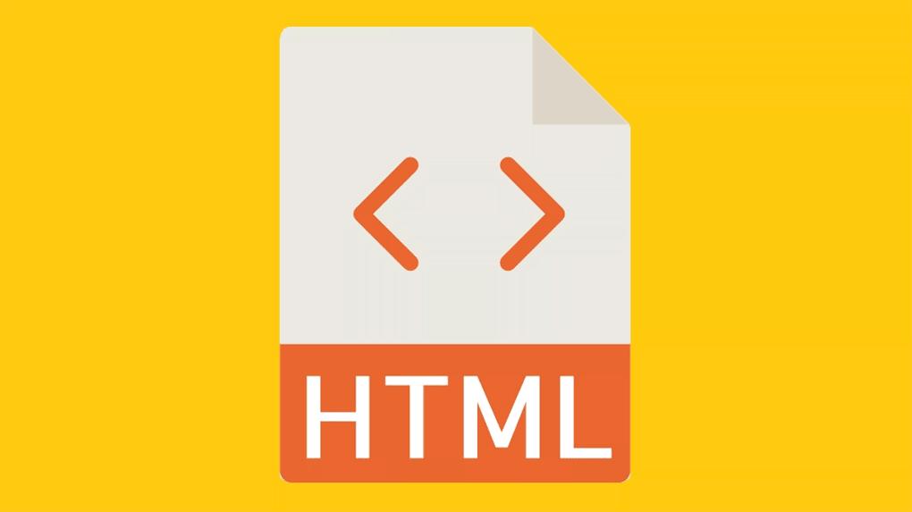 logotipo da linguagem html