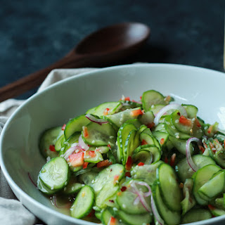 Asian Cucumber Salad.
