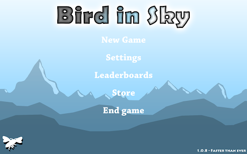 Bird in Sky - náhled