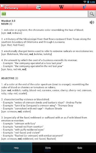 Free Dictionary Org screenshot 19