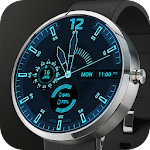 Deep Blue Watch Face Icon