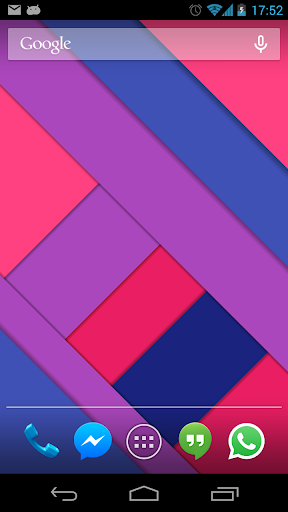 Material Design Live Wallpaper screenshots 2