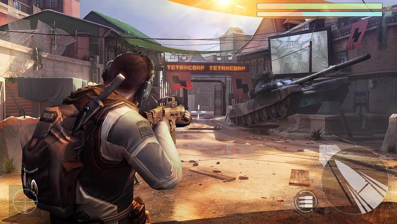 Cover Fire: shooting games Screenshot