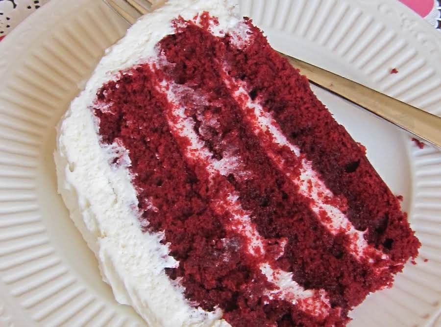 Red Velvet Cake Recipe In Pressure Cooker: Red Velvet Cake Recipe 3