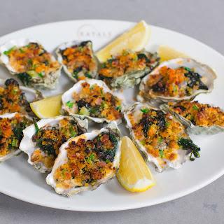 "Oysters ""Balotelli""."