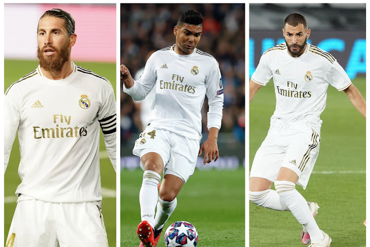 Zinedine Zidane s'appuie sur son épine dorsale
