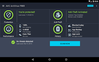 Screenshot of AntiVirus FREE - Security Scan