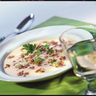 Hack-Käse-Suppe
