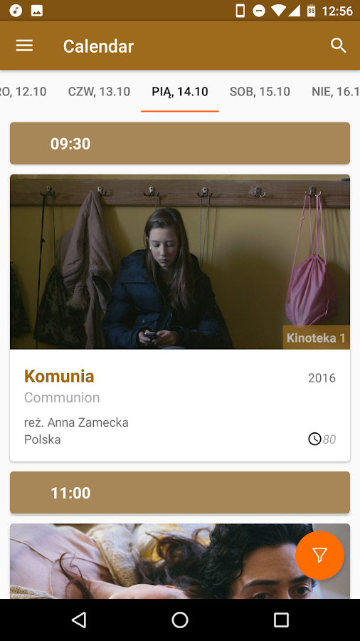 Warsaw Film Festival 2016- screenshot