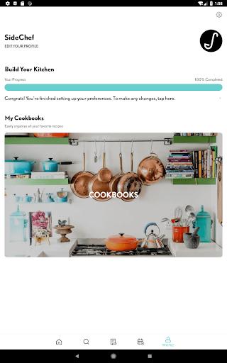 SideChef: 18K Recipes, Meal Planner, Grocery List 4.7.3 Screenshots 16