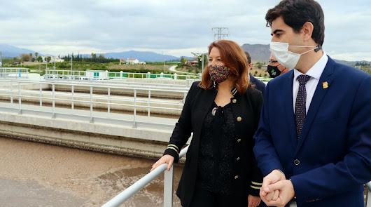 La Junta entrega la EDAR del Bajo Guadalhorce