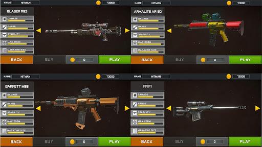 real sniper 3d assasin : sniper offline game screenshot 3