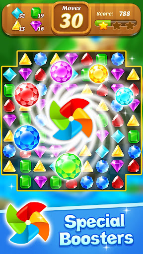 Jewel & Gems Mania 2020 - Match In Temple & Jungle apktram screenshots 5