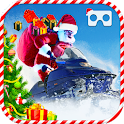VR Christmas Bike Racing icon