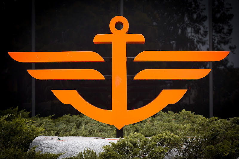 Photo: For   #urbansnap  on this week's theme of  Orange Coloured Curved Objects My first entry is a sculpture of an Anchor found in the Levi Plaza, San Francisco.  +Urban Snap is a photo game with a weekly changing theme by me and +Kristine Ward