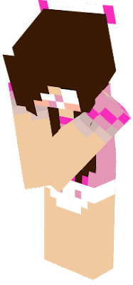 ok everybody on the last one i said a surprise and you gotta surprise look familiar? yup it's a baby gamingwithjen cool right! i just got a gamingwithjen skin then made it a baby! ok now little jen here is really shy right now all she wants is a least one just one like please make her happy!