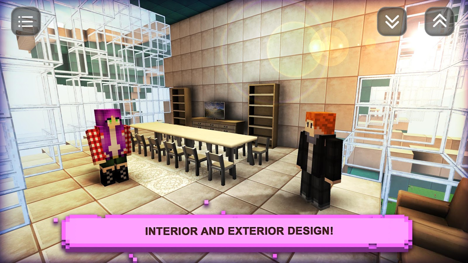Sim design home craft fashion games for girls android for Interior design simulator free