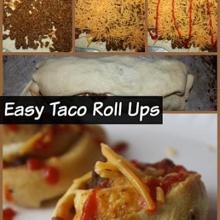 Easy Taco Roll Ups
