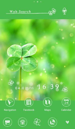 Four-Leaf Clover +HOME Theme 1.0.0 Windows u7528 5