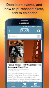SLO HAPPENINGS – Events Calendar- screenshot thumbnail