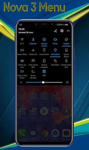 Theme for Huawei Nova 3 - Nova 3i launcher 5.1 screenshots 5